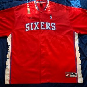 Phila 76ers Warm-up Shooting Jersey 3XL by Nike